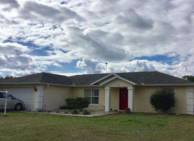 Ocala Single Family Home For Sale: 13336 SW 2nd Ct Court
