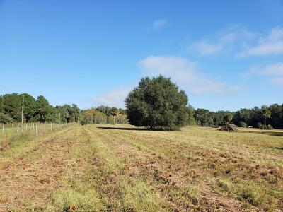 Citra Residential Lots & Land For Sale: N-10ac E Hwy 316
