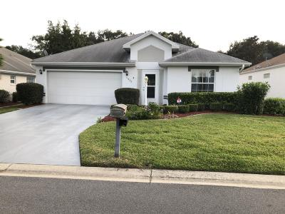 Summerfield FL Single Family Home For Sale: $179,900