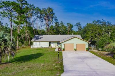 Marion Oaks North, Marion Oaks South, Marion Oaks Rnc Single Family Home For Sale: 15862 SW 49th Ct Road
