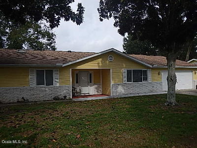 Ocala Single Family Home For Sale: 11620 SW 84 Ave Rd Road