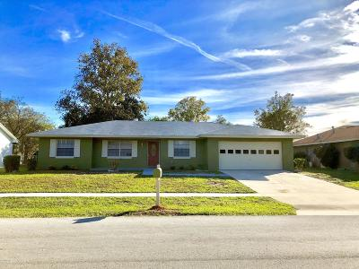 Marion Oaks North, Marion Oaks South, Marion Oaks Rnc Single Family Home For Sale: 15159 SW 37th Terrace