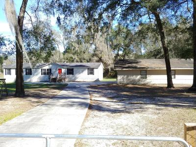 Citrus County Single Family Home For Sale: 3 W Withlacoochee Trail