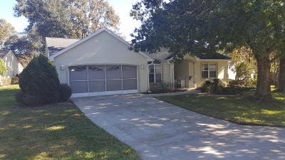 Lake County, Marion County Single Family Home For Sale: 11675 SW 78 Court