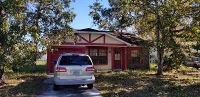 Ocala Single Family Home For Sale: 28 Spring Loop Circle