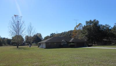 Summerfield Single Family Home For Sale: 4630 SE Hwy 42