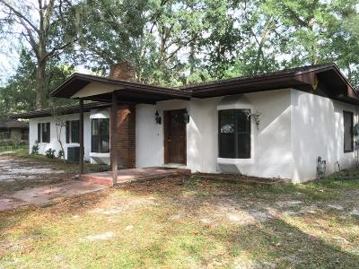 Williston Single Family Home Pending: 125 SE 5th Street
