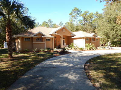 Dunnellon Single Family Home For Sale: 7770 SW 181st Circle