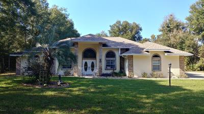 Ocala Single Family Home For Sale: 3630 SW 52nd Terrace