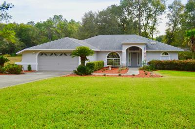 Dunnellon Single Family Home For Sale: 10040 SW 202nd Circle