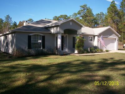 Ocala Single Family Home For Sale: 4690 SW 121st Terrace
