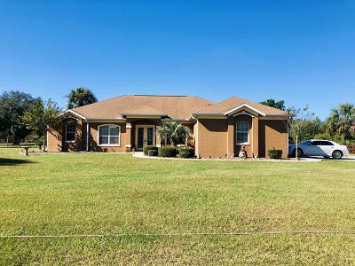 Citrus County Single Family Home For Sale: 6324 N Paraqua Circle