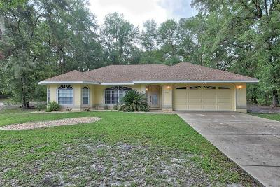 Rainbow Spgs Cc Single Family Home For Sale: 19025 SW 100th Place