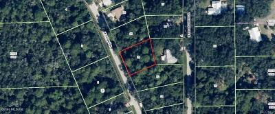 Citrus County Residential Lots & Land For Sale: 11105 W Cedar Lake Drive