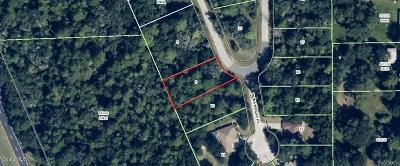 Citrus County Residential Lots & Land For Sale: 11058 W Cedar Lake Drive