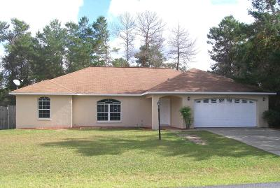 Ocala Single Family Home For Sale: 13651 SW 38th Court