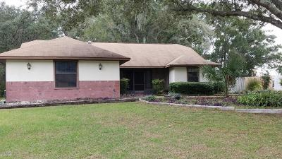 Ocala Single Family Home For Sale: 10642 SW 67 Terrace
