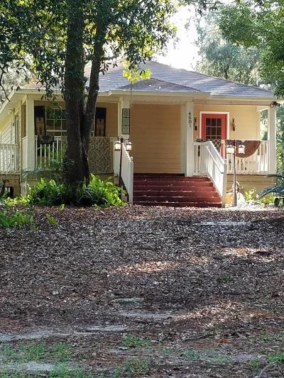 Ocala Single Family Home For Sale: 4601 NE Jacksonville Road