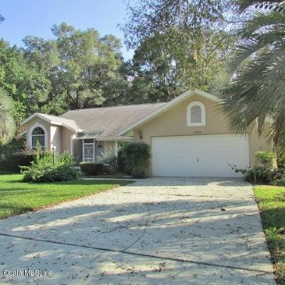Dunnellon Single Family Home For Sale: 19075 SW 92nd Loop