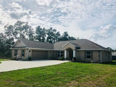 Marion Oaks North, Marion Oaks South, Marion Oaks Rnc Single Family Home For Sale: 13772 SW 27th Court Road