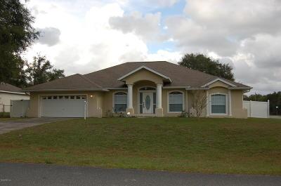 Ocala Single Family Home For Sale: 13361 SW 43 Avenue Road Road