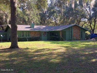 Ocklawaha Single Family Home For Sale: 13195 SE 115th Avenue