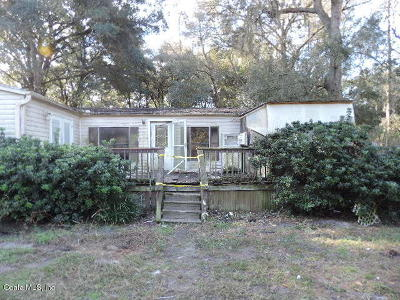 Dunnellon Mobile/Manufactured For Auction: 10790 SW 151st Place