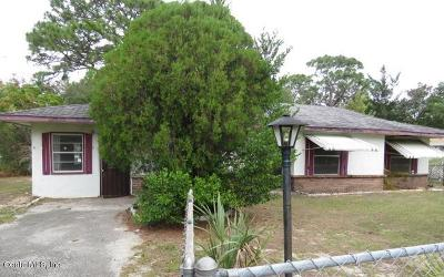 Ocala Single Family Home For Sale: 436 Spring Lane