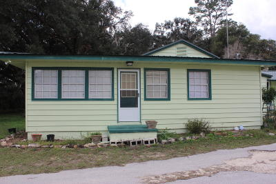 Belleview FL Single Family Home For Sale: $172,000