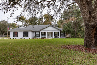 Belleview Single Family Home For Sale: 10735 SE 94th Avenue