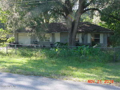 Marion County Single Family Home For Auction: 6380 NW 62nd Avenue