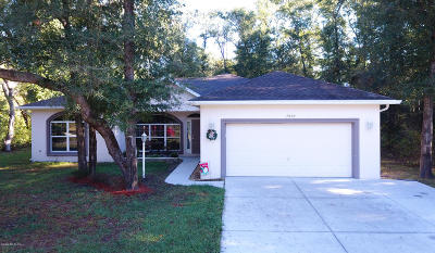 Citrus County Single Family Home For Sale: 7805 N Creek Way