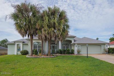 Ocala Single Family Home For Sale: 344 Marion Oaks Golf Way