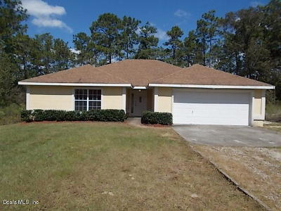 Dunnellon Single Family Home For Sale: 24113 NW Water Oak Ave Avenue