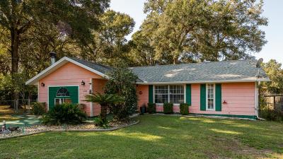 Belleview FL Single Family Home For Sale: $159,900