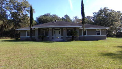 Marion County Single Family Home For Sale: 5560 W Highway 318