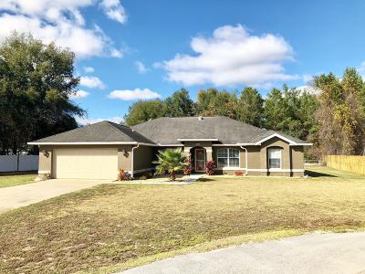Marion County Single Family Home For Sale: 9584 SW 42nd Court