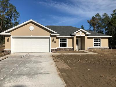 Ocala Single Family Home For Sale: 4673 SW 113th Place