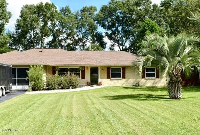 Ocala Single Family Home For Sale: 4911 NE 9 Street