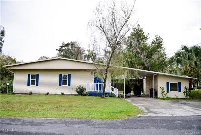 Citrus County Single Family Home For Sale: 637 S Redbud Terrace