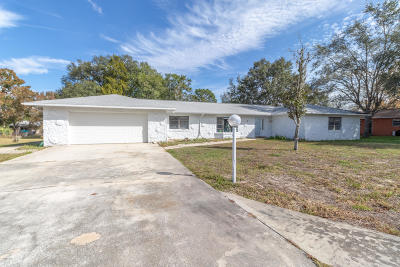 Ocala Single Family Home For Sale: 568 Silver Course Circle