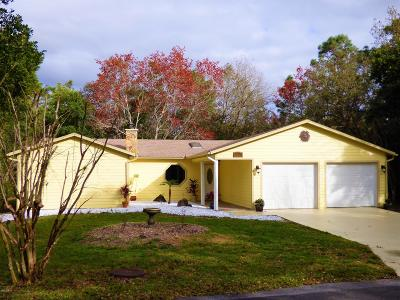 Homosassa Single Family Home For Sale: 11 Laurelcherry Court