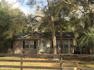 Dunnellon Mobile/Manufactured For Sale: 5021 SW 194th Ave