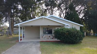 Ocala Single Family Home For Sale: 75 Almond Pass Drive