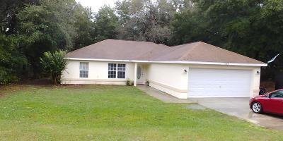 Marion County Rental For Rent: 13579 SW 101st Street