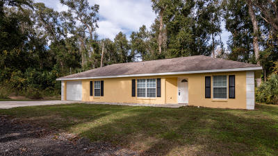 Citra Single Family Home For Sale: 949 NW 122nd Place