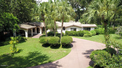 Lake County, Sumter County Single Family Home For Sale: 1 Hickory Head Hammock