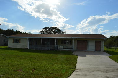 Ocala Single Family Home For Sale: 10946 SW 65th Avenue