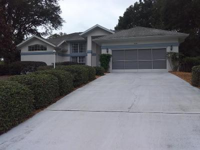 Dunnellon Single Family Home For Sale: 8959 SW 191st Circle