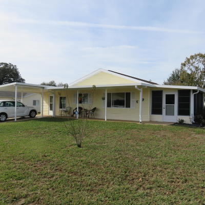 Ocala Single Family Home For Sale: 11020 SW 63 Terrace